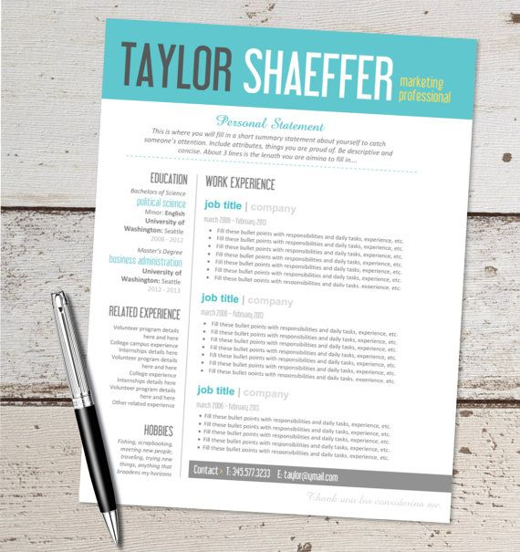 free minimal resumecv template free modern resume template psd