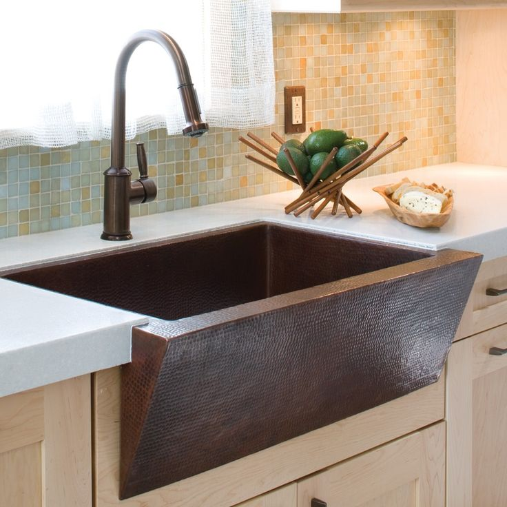Zuma - Kitchen Apron Sinks - Copper Kitchen Sinks - Kitchen