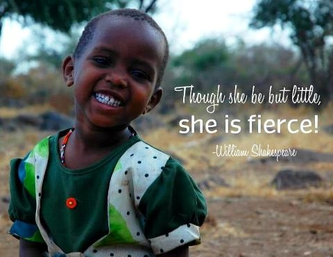 She is fierce! #girlseducation #aynieducation