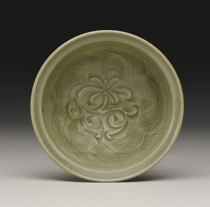 A carved 'Yaozhou' bowl, Song Dynasty
