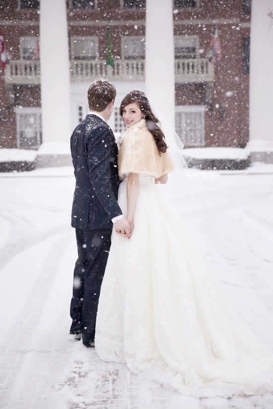 i dream about a winter wedding
