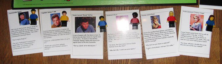 Star Trek Clue - Lego Minifigures