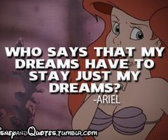 disney quote from disney princess ariel