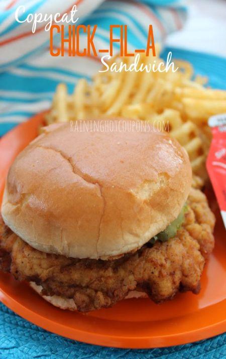 Copycat Chick-Fil-A Sandwich | Raining Hot Coupons