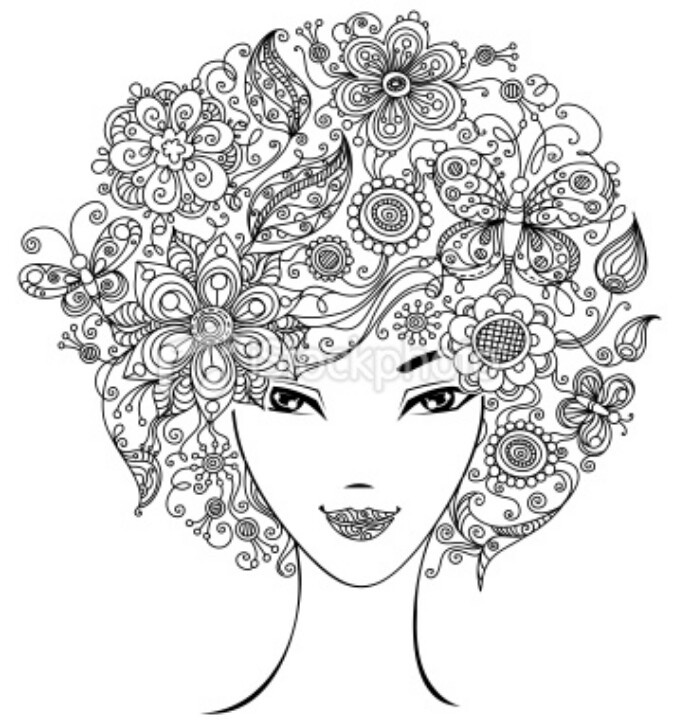 crazy adult coloring pages