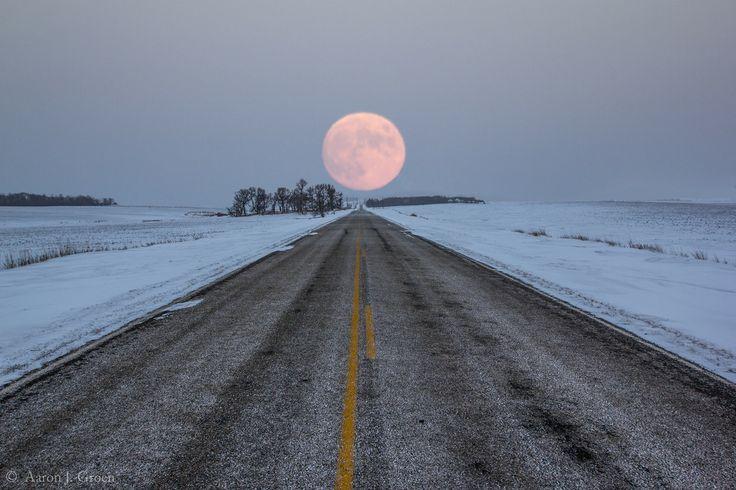Highway To The Moon by Aaron J. Groen