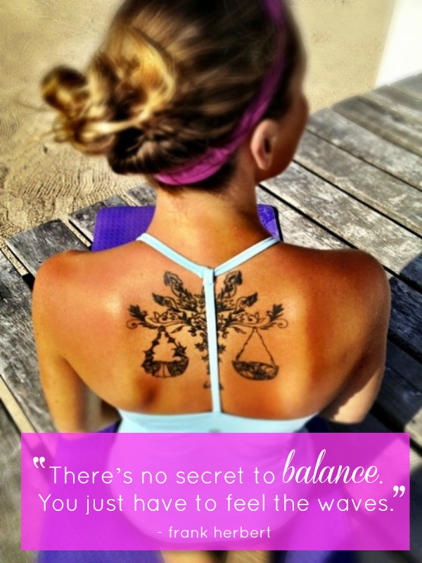 There's no secret to #balance   #quote #tattoo #tan #summer #photo #beautiful #beach
