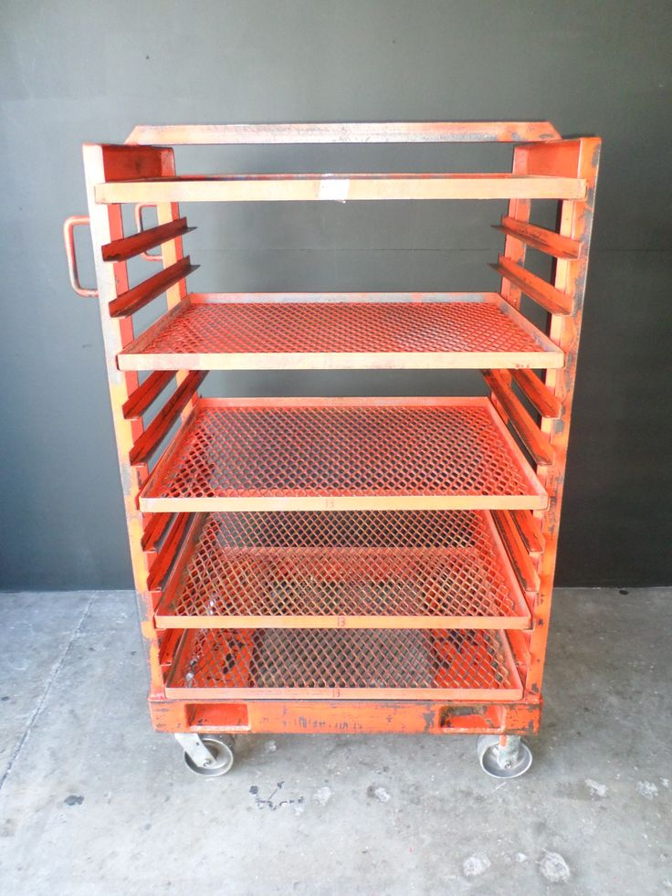 Industrial shelf