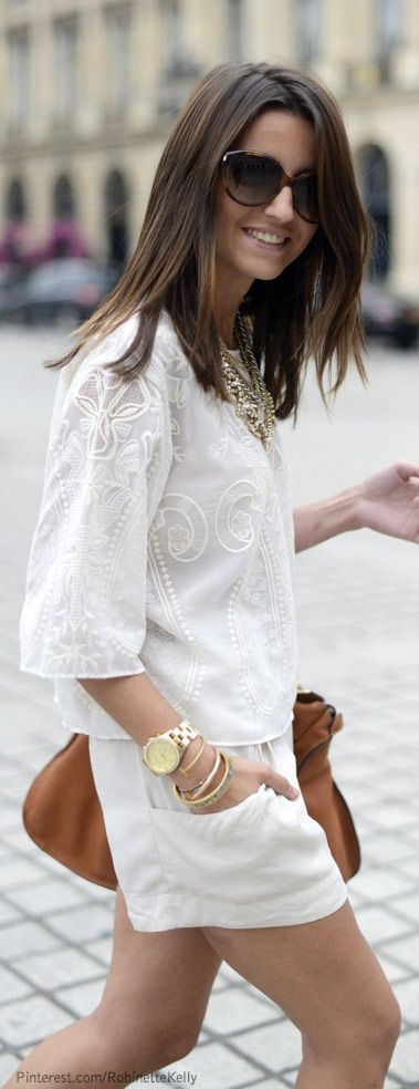 chic summer whites