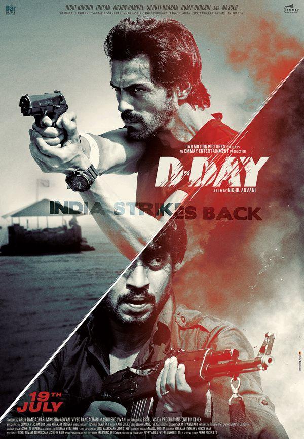 D DAY poster by raj khatri, via Behance