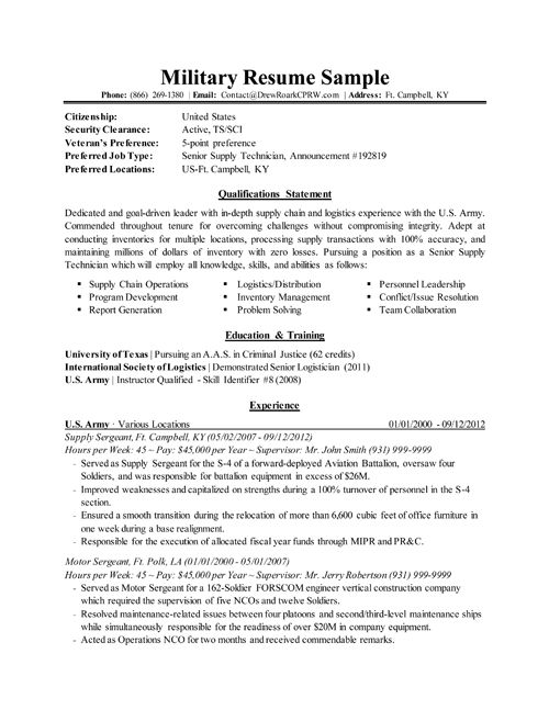 military resume ebony s navy fitness revolution pinterest