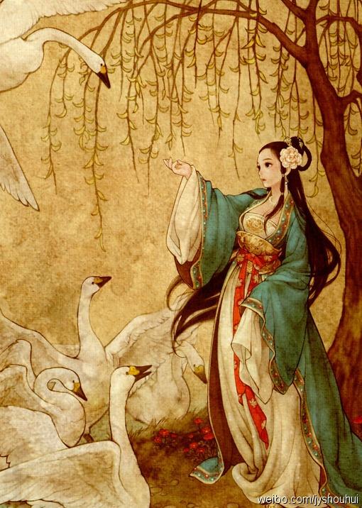 vetement-traditionnel-chinois-hanfu-dessin-kawaii-belle