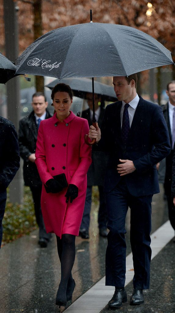 Will and Kate Brave the Rain For a Special Day in NYC
