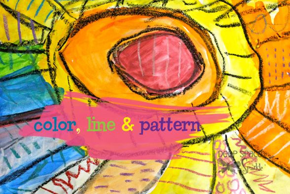 Color line and pattern from DSS