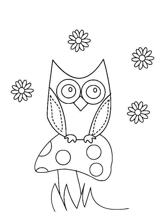 Cute Owl Coloring Pages For Girls To Print. cute owl coloring pages ...