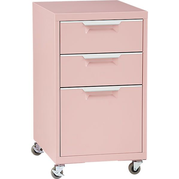 TPS pink file cabinet
