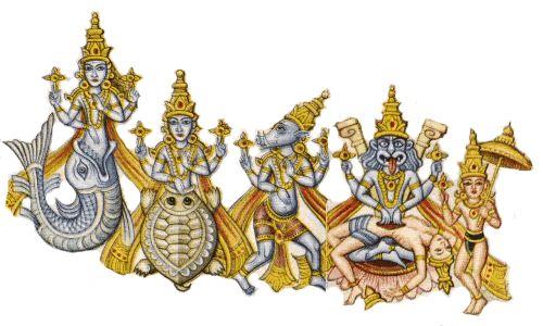 vishnu incarnations