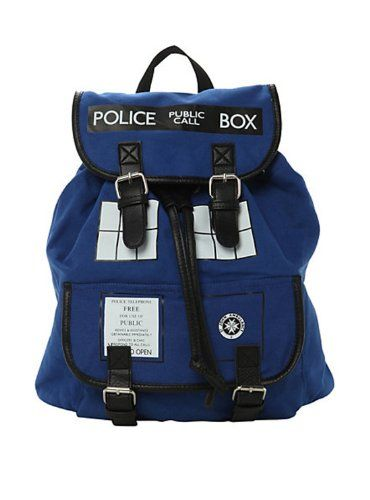 Doctor Who TARDIS Slouch Backpack $54.99 (save $5.00)