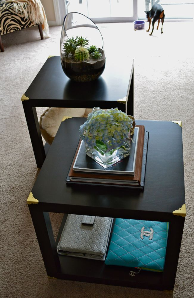 Trunk Cube Tables