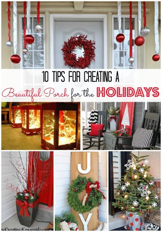 10 Tips for Creating a Beautiful Porch for the Holidays | eBay