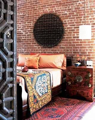 La alfombra enmarca el conjunto de muebles del dormitorio.  #Esmadeco.
