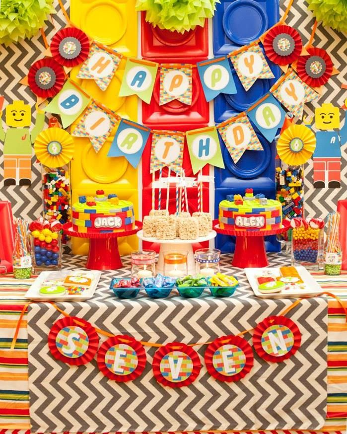 Southern Blue Celebrations Lego Party Ideas