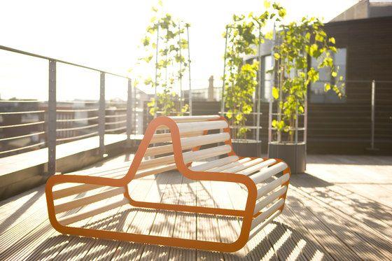 Panche da giardino | Sun Deck | FLORA | Michael Koenig. Check it out on Architonic