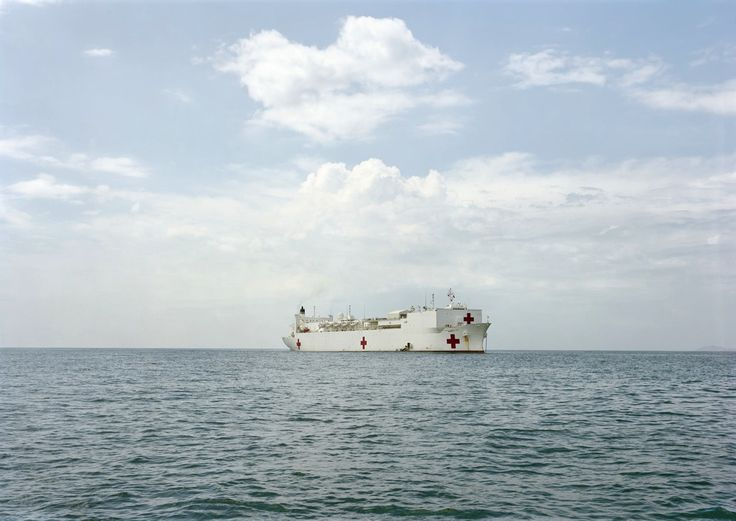 An-My Lê: US Naval Hospital Ship Mercy, Vietnam, 2009. From the Events Ashore Series. Image courtesy of the artist and Murray Guy, New York