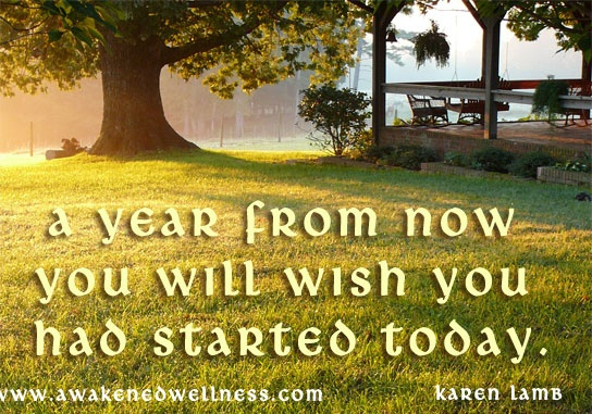 Is this your year? Great inspiration for making 2013 a year I'm going to love to live!
