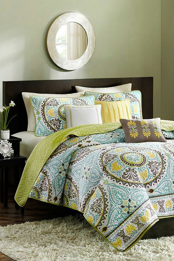 Maya Quilted Coverlet Set