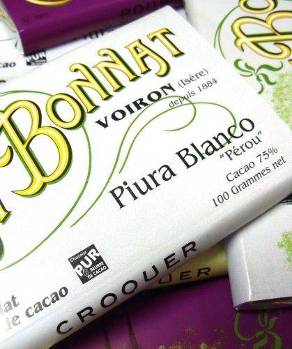 Bonnat Chocolat Piura Blanco Perou 75% | Kilde: Noailles