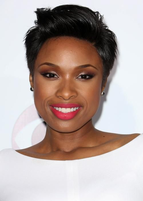 Jennifer Hudson short #hair