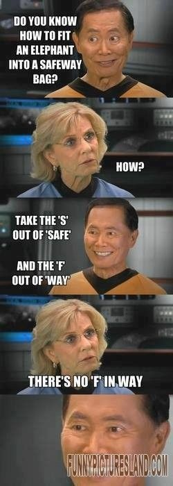 Get a laugh: It s okay to be Takei