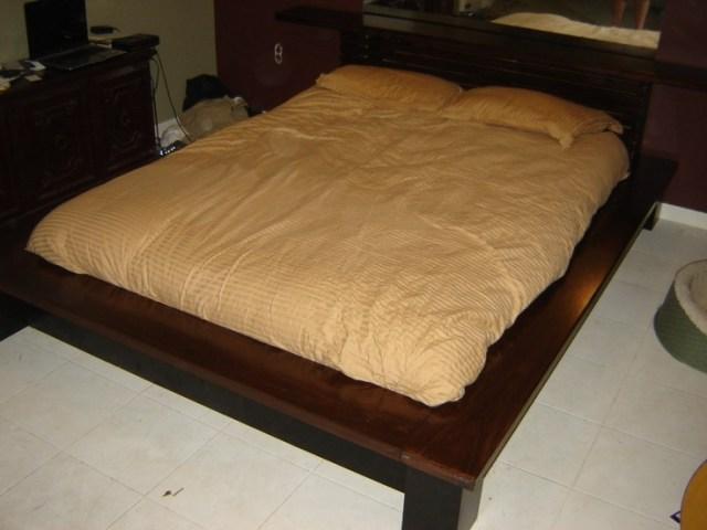DIY Platform Bed - Imgur | Make Your Own Bed | Pinterest
