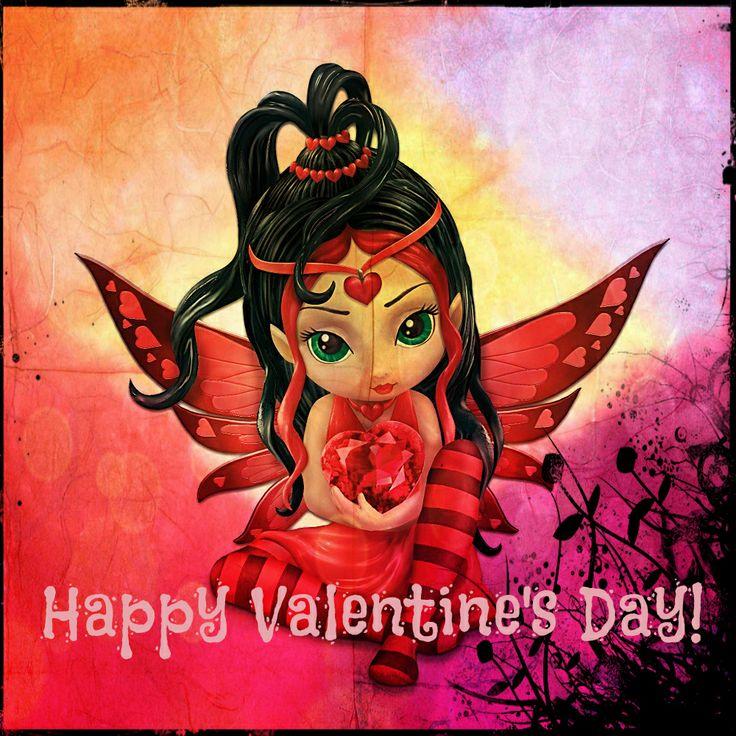 Valentine Fairy I Believe In Fairies Pinterest