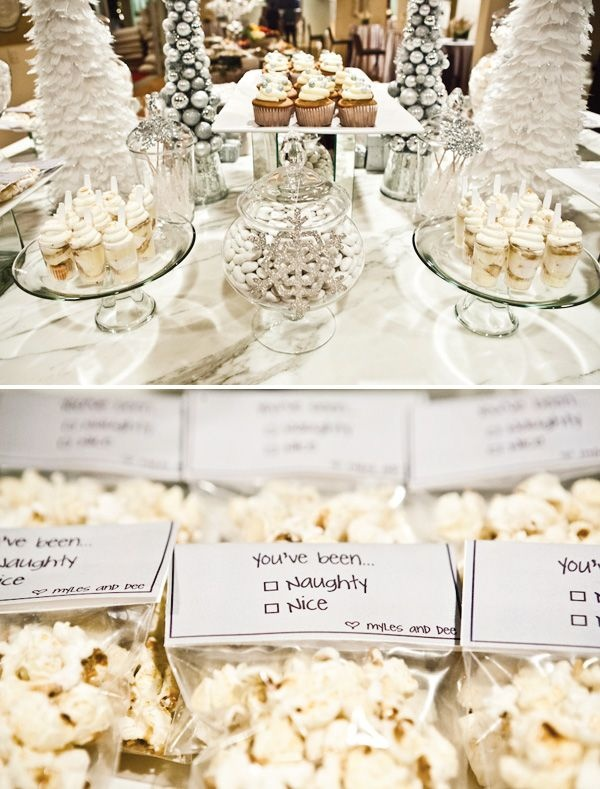 holiday candy & dessert bar