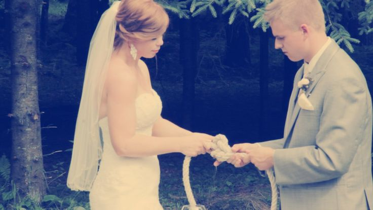 Knot Tie as Unity Ceremony via Events by L, McHenry, Illinois