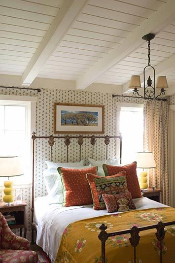 dream cottage bedroom by Kathryn Ireland