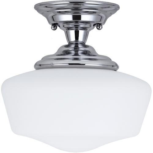 Seagull Lighting Light Chrome Incandescent Ceiling Fixture