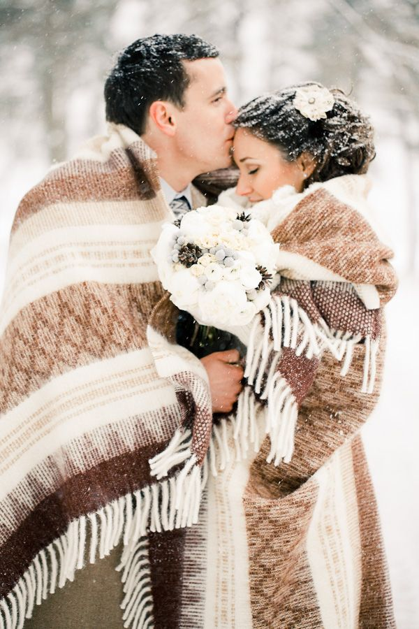 Winter Wedding Photography ♥ For an easy-to-follow #Wedding #Photography #Guide ... https://itunes.apple.com/us/app/the-gold-wedding-planner/id498112599?ls=1=8 ♥ For more wedding inspiration ... http://pinterest.com/groomsandbrides/boards/ & magical wedding ideas.