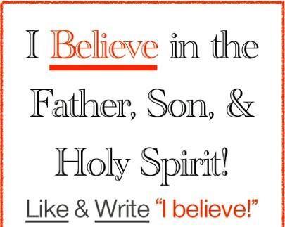 I believe!!!!