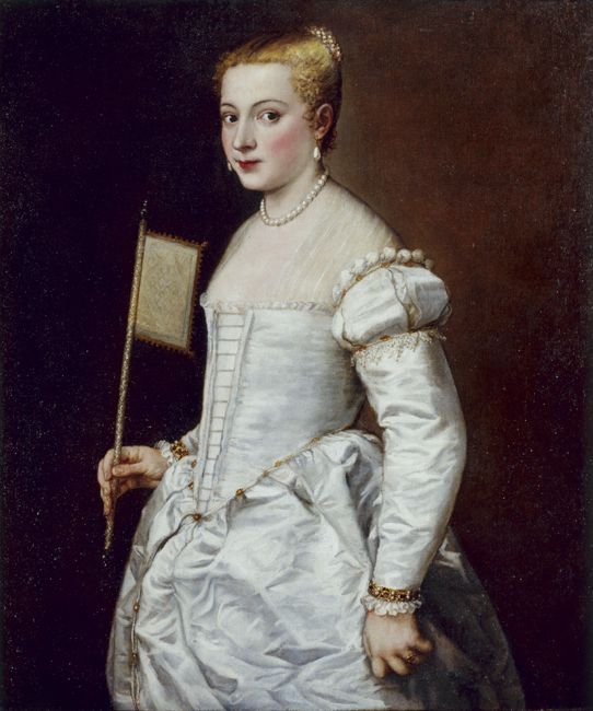 Titian, Portrait of a Lady in White, oil on canvas, 102 x 86 cm, Gemäldegalerie Alte Meister © State Art Collections in Dresden