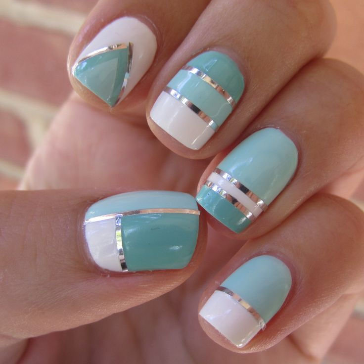 Id just choose one design and so it for all of the nails