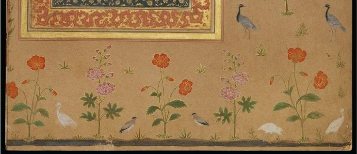A nasta'liq quatrain, signed [Mir] 'Ali, Mughal India, circa 1650-58
