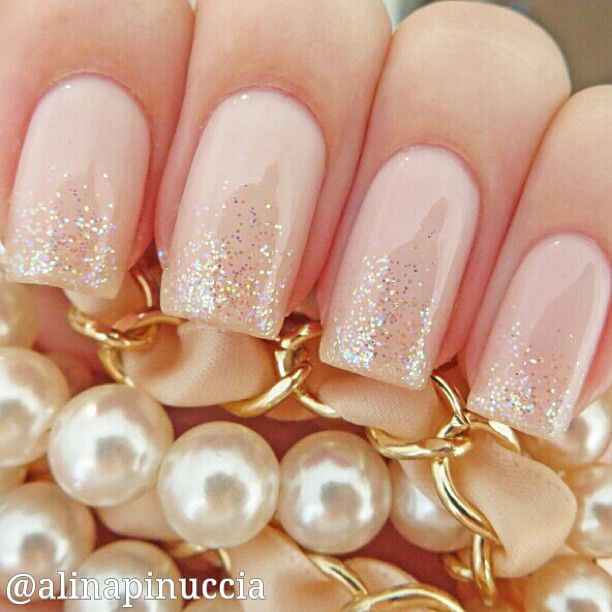 vintage, summery theme?  the blush pink and gold glitter look lovely and classic.