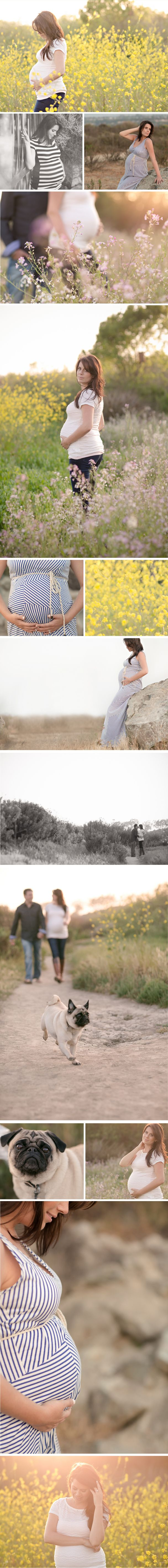 La Petite Peach - BrittRene Maternity / Pregnancy Session Photo