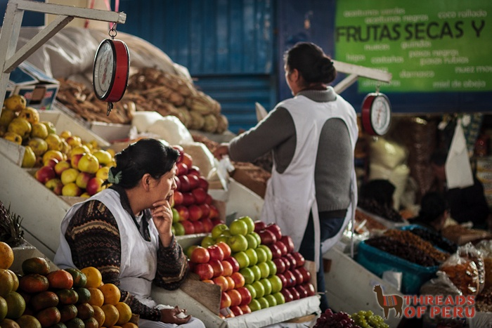 Mercado de San Pedro, Cusco, Peru.... some great memories