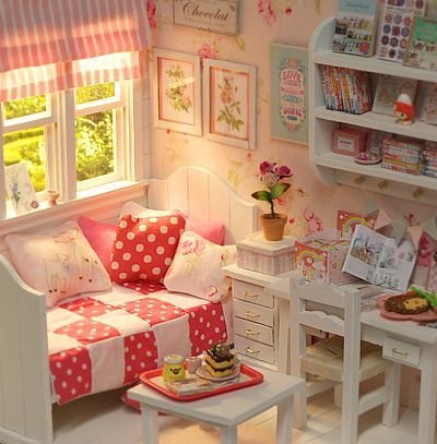 ♥ Custom Handmade Diorama SUMMER CANDY ♥