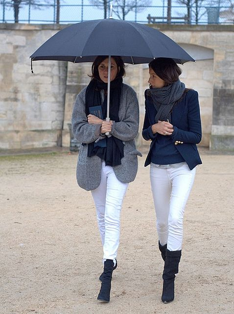 rainy day in the tuileries