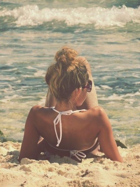 Summer #beach #girl #relax